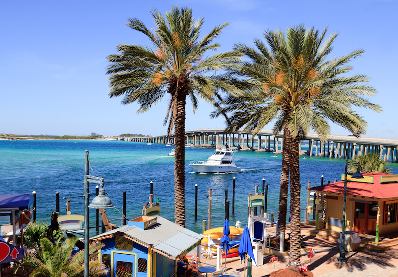 Destin waterfront dining