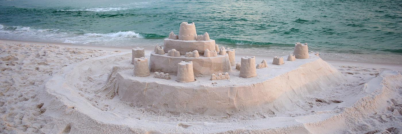 Sandcastle on Destin Beach
