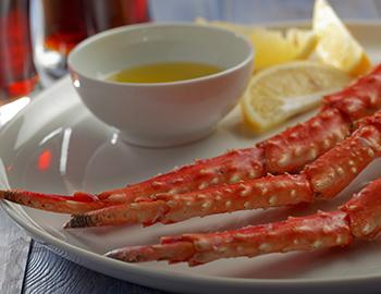 Crab Legs and butter