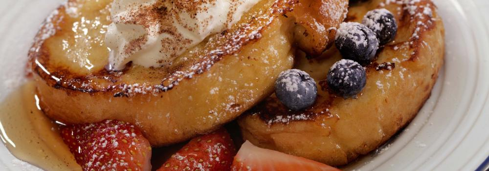 Stuffed French Toast with Powdered Sugar