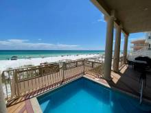 gulf front pool in destin florida